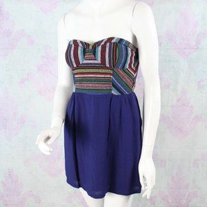 Urban Outfitters Staring at Stars Strapless Dres